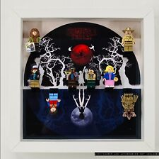 Display Case Frame for Lego Stranger Things minifigures 75810 no figures
