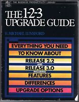 The 1-2-3 Upgrade Guide for Release 2.2 & 3.0 Free USA Shipping!