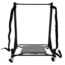 """Triumph TR6 Hard Top Stand Cart Rack with 5"""" castors & Hardtop Cover (050Bc)"""