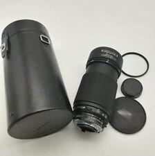 Zoom Nikon AF 80 200 mm f 2.8 ED fotografia obiettivo