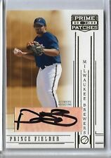 2005 Donruss Prime Patches Auto Autograph Prince Fielder