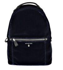 Michael Kors Backpack Bag Kelsey LG Backpack Velvet Velvet Admiral New