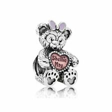 Authentic Pandora Disney ShellieMay Silver Charm with Pink Enamel 792130ENMX