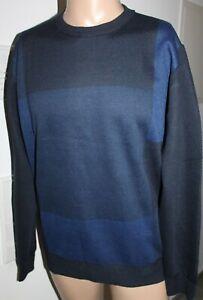 Pierre Cardin Herren Sweater Pullover Navy Blau Größe M 50 Neu mit Etikett