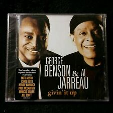 George Benson & Al Jarreau Cd Giving it up Nip Herbie Hancock Paul McCartney