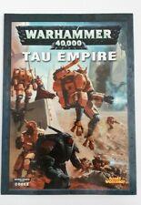 TAU EMPIRE: Warhammer 40,000 40K codex (Games Workshop, 2005)