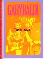 GARYBALDI Italian progressive rock - postcard - cartolina Nuovo Pop Italia