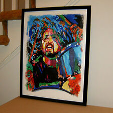 Dave Grohl, Foo Fighters, Singer, Guitar, Drummer, Nirvana, 18x24 POSTER w/COA 2