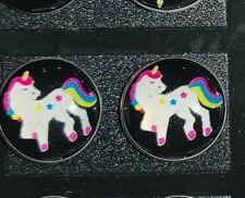 1 Pair/Set Unicorn Stud Earrings Set Horse Animal Earring Girl Trinket Gift C