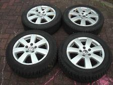 Org VW Passat 3C Alufelgen & Winterreifen 205/55 R16 94 H 3C0601025Q gute 6mm