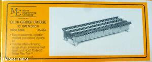 Micro Engineering Company HOn3 #75504 Deck Girder Bridge (30' Open Deck)