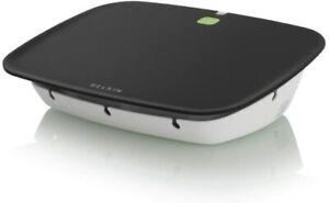 Bekin Conserve Valet Black White Lemongrass Smart USB Charging Station F7C008q