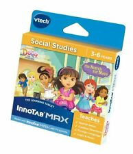 Vtech InnoTab Software-Dora and Friends-social studies learing Game-New