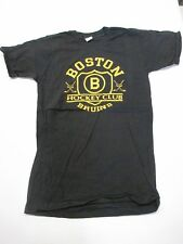 VTG 70s Boston Bruins Hockey Club T Shirt Size S
