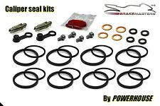 Kawasaki ZXR 400 R front brake caliper seal kit L1 L2 L3 1991 1992 1993 ZX400
