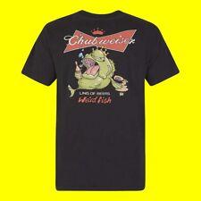 - Weird Fish Artist Chubweiser Ling of Beers T-shirt Black Medium