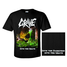 GRAVE official T-Shirt INTO THE GRAVE Swedish Death Metal  EINZELSTÜCK !