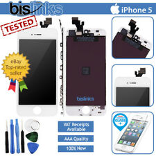 Per iPhone 5 Bianco Completo LCD Display Touch Screen digitalizzatore Assembly sostituzione