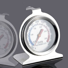 New Stainless Steel Oven Cooker Thermometer Temperature Gauge Kitchen Food wcFF