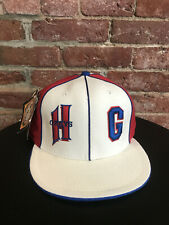 1939 HOMESTEAD GRAYS GAME ISSUED FITTED NEGRO LEAGUE BASEBALL HAT CAP