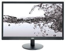 AOC E2270SWN 55 cm (21,5 Zoll) 16:9 LCD Monitor - Schwarz