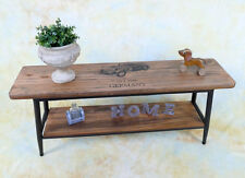 Konsolentisch Konsole Beistelltisch Wandkonsole Ablage Tisch Sitzbank E16010-a