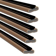 Intumescent Fire & Smoke Seal Single Door Pack Brown 10mm x 4mm - Pack of 100