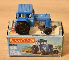 Matchbox 1-75 Series Superfast No.46 Ford Tractor Boxed. 1970's