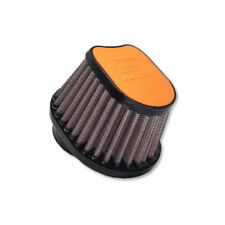 DNA Special Oval Orange Leather Top Air Filter, In: 50mm, L: 87mm, OVI-5000-L-O
