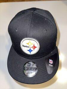 Pittsburgh Steelers Black gold Team New Snap Snapback 9Fifty New Era CAP Hat 950
