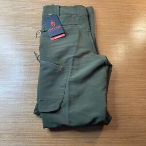 Kryptek Alaios Moisture Wicking Hunting Pants Olive Green Men's Size 30 x 32