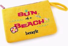 Benefit Cosmetics Sun of a Beach Washable Fabric Limited Edition Large Beach Bag