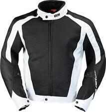 Chaqueta IXS Airmesh Evo 2 Negro-Blanco talla S para verano