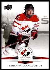 2014-15 Upper Deck Team Canada Juniors Sarah Vaillancourt #67