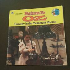 Walt Disney Pictures Return to OZ Dorothy in the Ornament Rooms Kids Book 1985