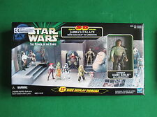 JABBA'S PALACE 3-D DISPLAY DIORAMA INC HAN SOLO FIGURE - STAR WARS POTF - BOXED