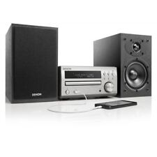 Denon Micro Hi-Fi DAB System CD Receiver System with Denon SC-M40 Black Speakers