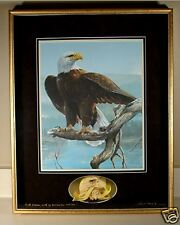 "1991 SPECIAL EDITION PRINT ""DISTANT THUNDER"" EAGLE BY MARIO F FERNANDEZ"