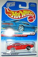 Red Ferrari 365 GTB/4 #1/36 2000 First Editions Hot Wheels 1:64 scale Mint Card
