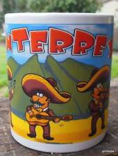 Monterrey Mexico Mug with Mariachi Band 4""