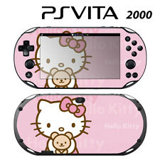 Sony Ps Vita Slim 2000 Skin Decal Sticker Vinyl Wrap Cute Kitty Pink Teddy Bear