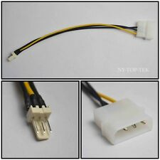 4-Pin Molex/IDE to 3-Pin for CPU/Chasis/Case Fan Power Connector Cable Adapter