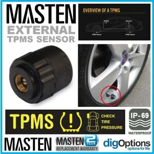Masten Tyre Pressure Monitor Systems External Sensors TPMS For TP-10 & TP-09