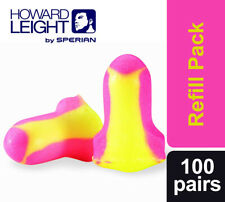 200 Ear Plugs Howard Leight Laser Lite Loose Packed (100 Pairs)