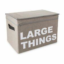 "Large Things Storage Box, Measures 16"" L x 11.5"" H x 10.6"" W"