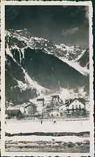 Chamonix, les Pècles, le Brévent (alt.2525m) Vintage silver printEnserrée entr