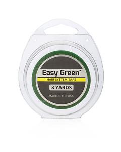 """Walker Easy Green 1/2"""" X 3 Yard Roll -Dull finish -Wig Hair system."""