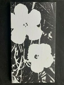 Original vintage rare silk-screen on canvas!hand signed Andy Warhol