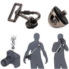 """1/4"""" Screw Connecting Adapter Hook For SLR DSLR Camera Shoulder Sling Belt Strap"""