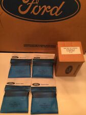 """NOS 1967 1968 1969 1970 FORD MUSTANG SHELBY BOSS MACH 2 1/4"""" EXHAUST CLAMPS"""